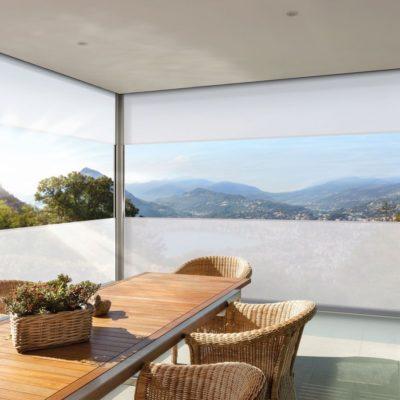 Fenster Markise im Außenbereich