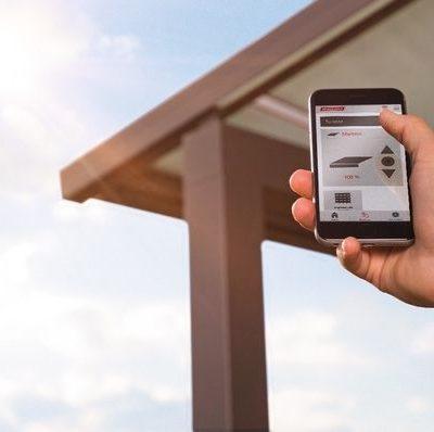 WMS Steuerung Smartphone